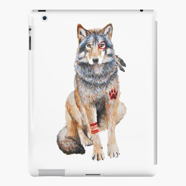 Native Wolf iPad Snap Case