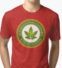 Cannabis Marijuana Hash Slacker pot-head culture Tri-blend T-Shirt