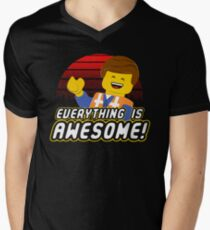 Everything is awesome! Men's V-Neck T-Shirt