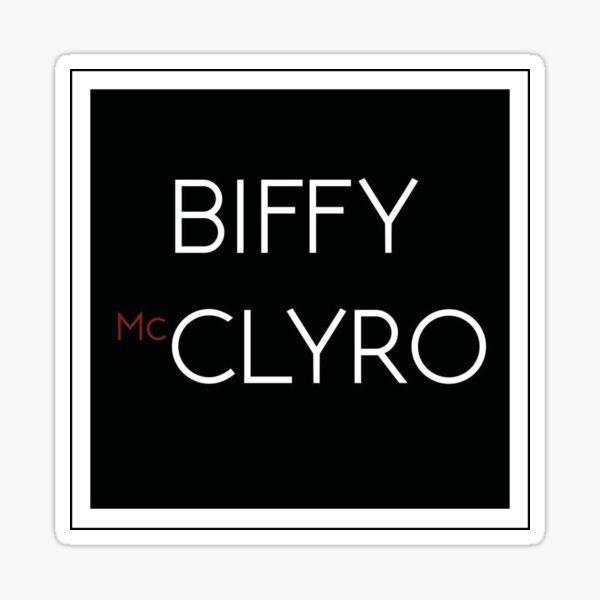 Biffy Clyro Group Art für Rockmusikliebhaber, Sticker