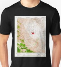 USGS TOPO Map California CA Coalinga 297125 1956 62500 geo T-Shirt