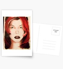 Milla - Red Hair Postcards