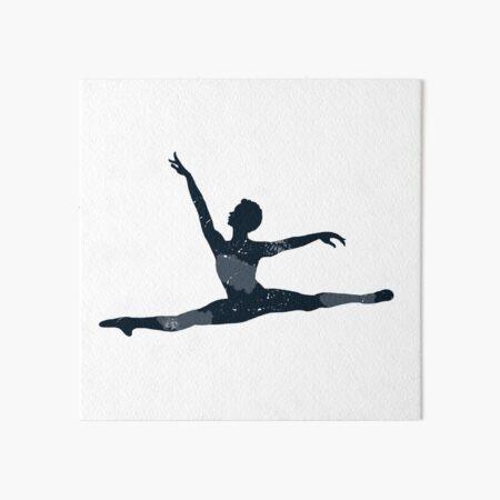 Fly Ballerino Art Board Print