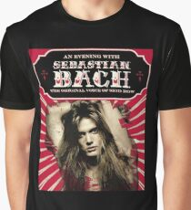 concert tour date Sebastian Bach time cl6 Graphic T-Shirt
