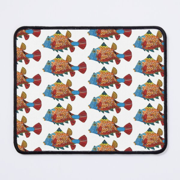 Don't forget to feed the Goldfish! Mouse Pad