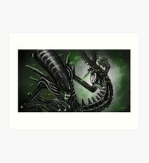 Alien (Xenomorph) Art Print