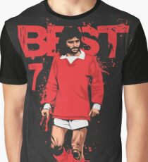 George Best Graphic T-Shirt
