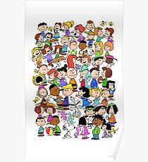 PEANUTS FAMILY Poster