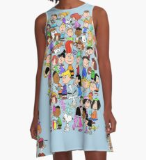 PEANUTS FAMILY A-Line Dress
