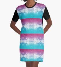Cosmic Aerosol Graphic T-Shirt Dress