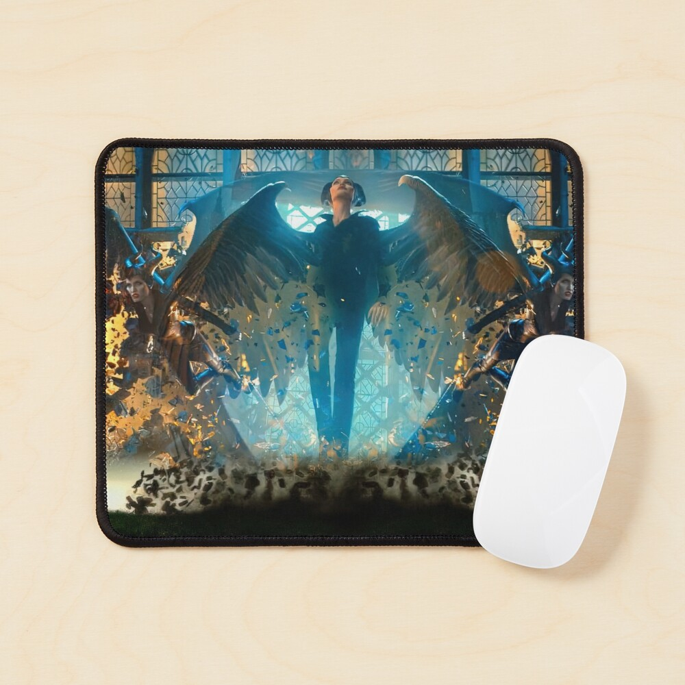 Maleficent Wings Action Art Mouse Pad