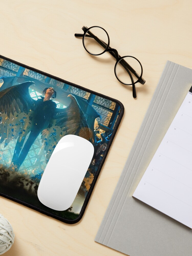 Alternate view of Maleficent Wings Action Art Mouse Pad