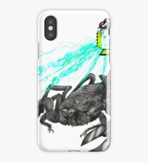 awesome laser scorpion iPhone Case/Skin