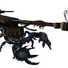 awesome tank cannon scorpion boom  von Florian  Gelbmann