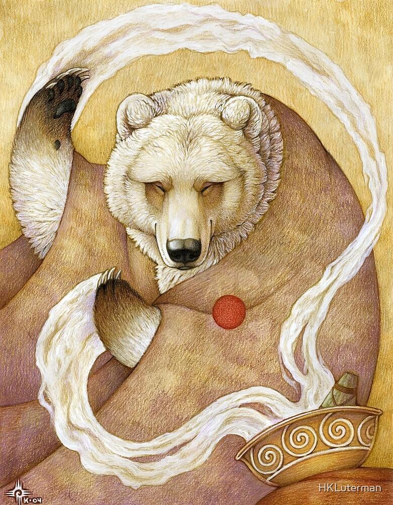 Healing Bear by HKLuterman