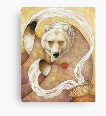 Healing Bear Metal Print