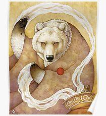Healing Bear Poster