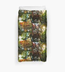Fall landscape Duvet Cover