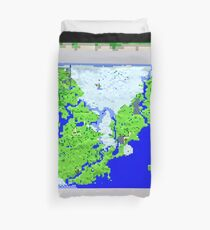 Mining Map King Size Duvet  Duvet Cover