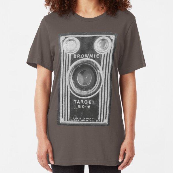 Kodak Brownie Six-16 Slim Fit T-Shirt