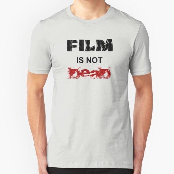 Film is not dead Slim Fit T-Shirt