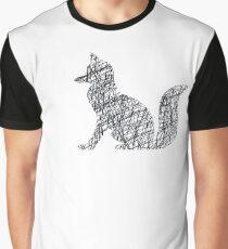 Black Fox Graphic T-Shirt