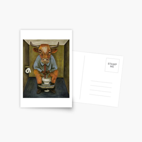 Bull Shitter Postcard