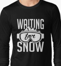 Skiing: Waiting for snow Long Sleeve T-Shirt