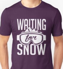 Skiing: Waiting for snow T-Shirt