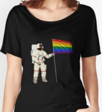 Moon Landing Pride Women's Relaxed Fit T-Shirt