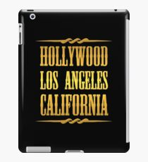 Golden Hollywood iPad Case/Skin