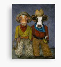Real Cowboys Canvas Print