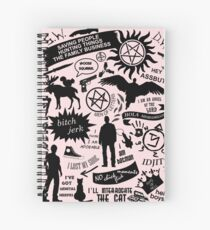 Supernatural items Spiral Notebook