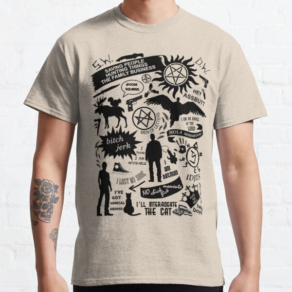 Supernatural items Classic T-Shirt