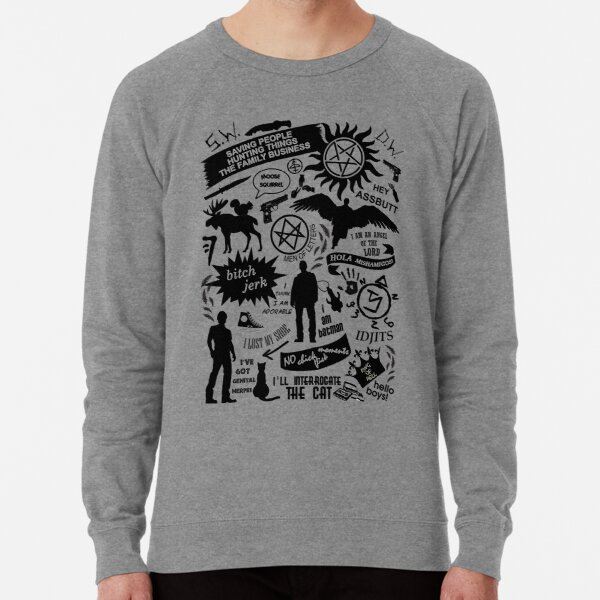 Supernatural items Lightweight Sweatshirt