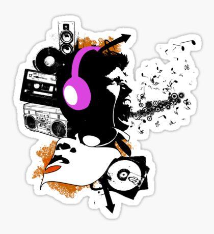 rocking is aloud Sticker