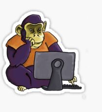 Datamonkey Sticker
