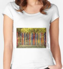 Snow Fence Women's Fitted Scoop T-Shirt