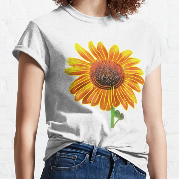 Sunflower (Eco Art) Classic T-Shirt