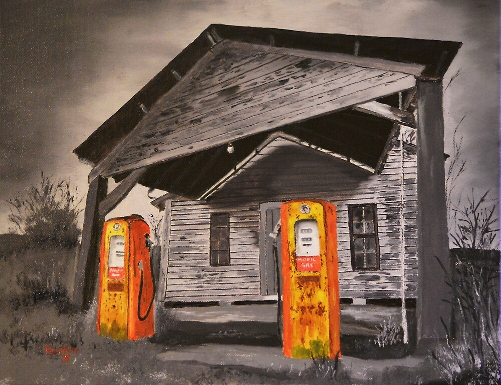 """""""A Vision From Days Gone By"""" by Darren Horton"""