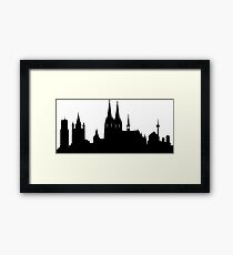 Cologne skyline Framed Print