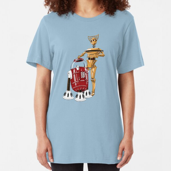 The Bots You're Looking For Slim Fit T-Shirt