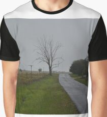 Misty Lonesome Road Graphic T-Shirt