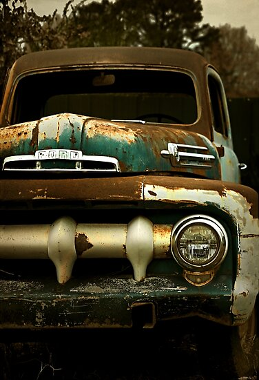 Abandoned 1952 Ford F-1 Pickup by mal-photography