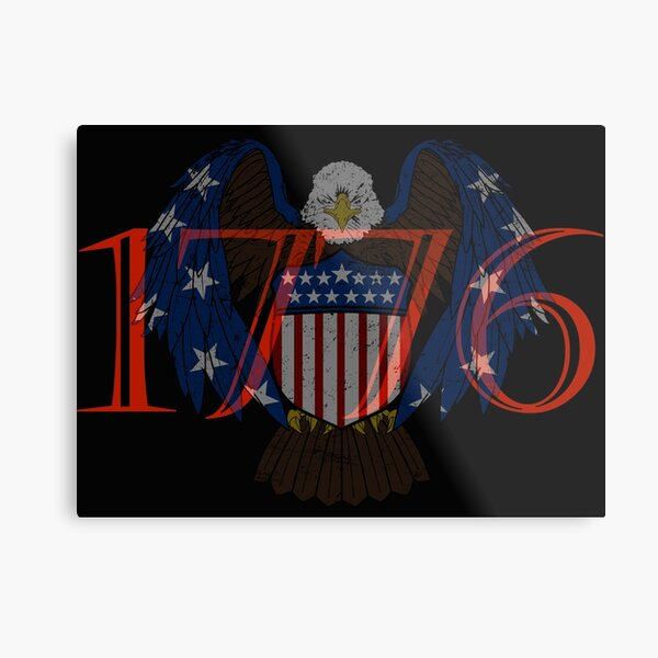 American Freedom 1776  Metal Print