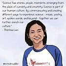 #SciComm100: Theresa Liao by ScienceBorealis