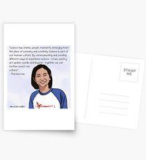 #SciComm100: Theresa Liao Postcards
