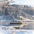 Christmas card - Norwegian txt by Bente Agerup