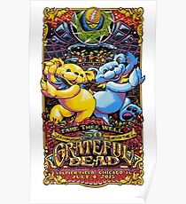 Grateful Dead - Fare Thee Well (50 Years) Poster