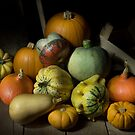 A Crate of Pumpkins by Ann Garrett
